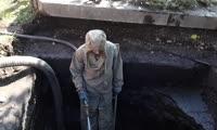 Чистка ливневой канализации на ул. Глинки, 2