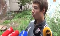На Красномосковской рухнула стена в доме