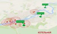 Инфографика: схема теплоснабжения г. Красноярска до 2033 г.