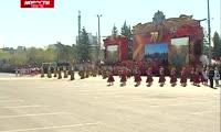 В Красноярске отметили 70-летие Великой Победы