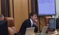 Итоги голосования по решению об отставке Александра Глискова