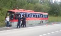 ДТП с автобусом в Ачинском районе