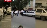 Красноярцы перекрыли дорогу в районе Мясокомбината