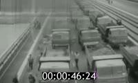 Фильм о строительстве и открытии Октябрьского моста в Красноярске