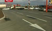 Сотрудники ГИБДД осмотрели обновленный перекресток в Северном