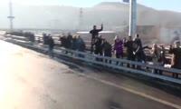 Открытие четвертого автомобильного моста через Енисей в Красноярске