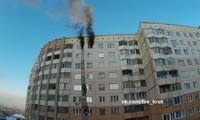Пожар в доме на ул. Машиностроителей