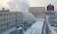 Пожар на ул. Дубровинского