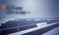 Крупнейшая солнечная электростанция в Сибири с высоты птичьего полёта