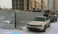 Жители Покровского против появления торгового павильона на придомовой территории