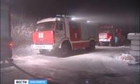 На ЦБК произошло второе серьёзное возгорание