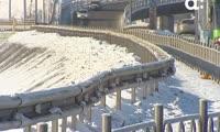 Около 20 нарушений на Четвертом мосту в Красноярске так и не устранили