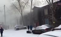 Пожар в доме на ул. Базарной