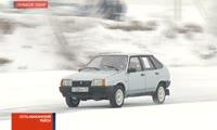 В Хакасии прошли ледовые гонки среди полицейских
