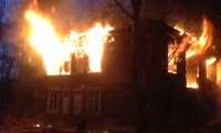 Пожар в доме по адресу пер. Водомётный, 9