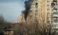 Пожар в доме по адресу ул. Свердловская, 9