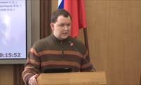 Выступление Аркадия Волкова на сессии Горсовета