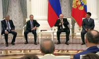 Встреча сфракцией «Единая Россия» иэкспертами • Президент России