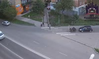 ДТП на перекрестке Бограда - Декабристов