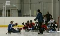 В Красноярске создадут детскую команду по следж-хоккею