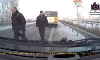 ДТП на трассе Красноярск - Сосновоборск