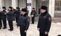 Красноярские полицейские устроили флешмоб в преддверии Дня Героев Отечества
