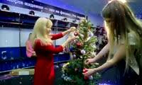 Жены красноярских хоккеистов сняли ролик с новогодним поздравлением
