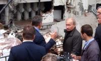 Визит Путина на Саяно-Шушенскую ГЭС 21 августа 2009 года (через несколько дней после аварии)