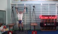 Николай Каклимов провел многочасовой одиночный марафон по подтягиванию