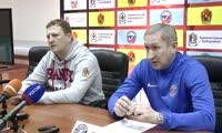 Пресс-конференция после полуфинального матча «СКА- Нефтяник» - «Енисей»
