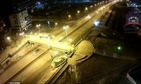 На Копыловском мосту у автомобиля отвалились колеса