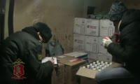 В Бородинском районе полицейские задержали подозреваемых в реализации контрафактного алкоголя