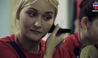 Красноярские футболистки сняли видео о себе