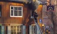 Пожар на ул. Полтавская