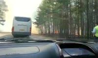 Пожар  под Лесосибирском