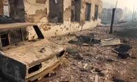 Последствия пожаров в Канске