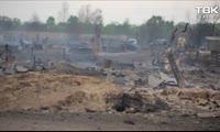 В чем причина крупных пожаров в Красноярском крае