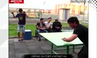 В Красноярске дворником работает солист таджикского театра