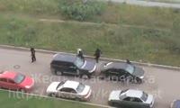Нападение на человека в Советском районе Красноярска