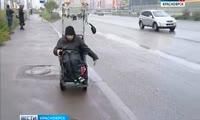 Два часа инвалид-колясочник не мог уехать в Покровку