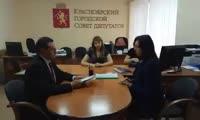 Эдхам Акбулатов подал документы для конкурса на пост мэра