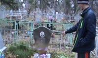 В Енисейске вандал украл 50 надгробных табличек