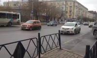 «Бездомный полк» на дорогах Красноярска