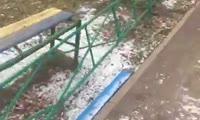 Жалобы жильцов на ремонт двора на ул. Тельмана, 30а