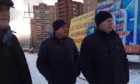 11 ноября Сергей Ерёмин посмотрел на благоустройство в  Студгородке