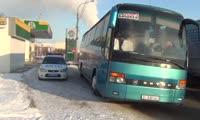 Автобус  с неисправными тормозами