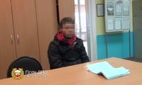 Погоня полицейских за нарушителем по Красноярску