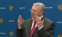 Речь Владимира Жириновского после подачи документов в ЦИК