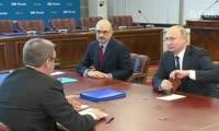 Владимир Путин подает документы для выдвижения кандидатом на президентских выборах