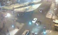 Авария на перекрестке улиц Сурикова и Карла Маркса
